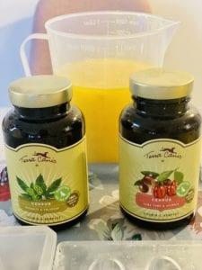 csontkocsonya C-vitamin komplexel felturbózva, hogy a kollagén kiválóan hasznosuljon!
