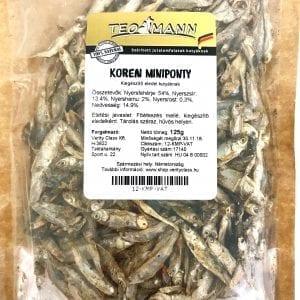 Szárított Koreai Miniponty, Teomann