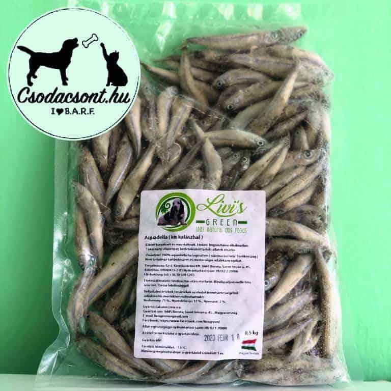 Aquadella (apróhal) kutyáknak 0,5kg, Livi's Green