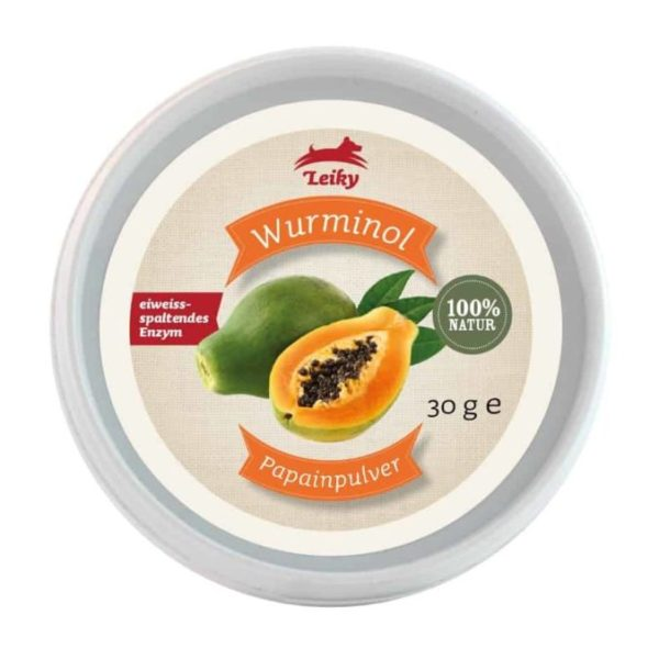 Leiky Wurminol papainpor természetes féreghajtó