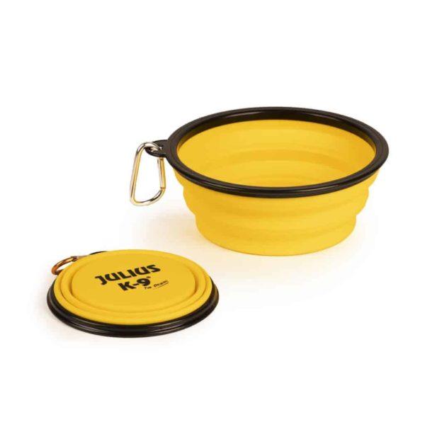 Összecsukható kutya tál, 1 literes, JULIUS-K9®