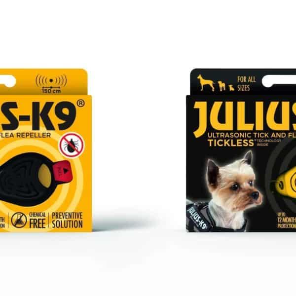 Ultrahangos kullancs- és bolhariasztó, JULIUS-K9®
