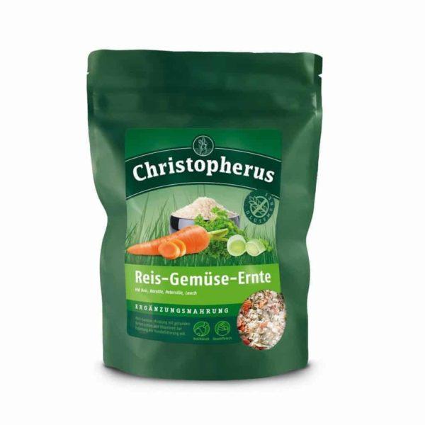Christopherus táplálékkiegészítő pehely rizs-zöldség-termés