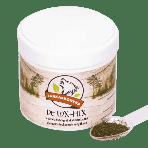 Detox-mix méregtelenítő gyógynövénykeverék kutyáknak, Farkaskonyha