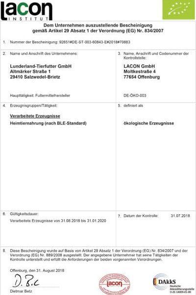 Bio Csipkebogyópor, Lunderland