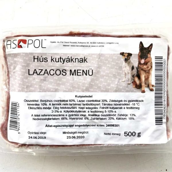 Lazacos BARF menü, ASPOL