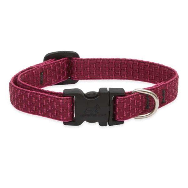 Lupine ECO újrahasznosított nyakörv kutyáknak – Berry