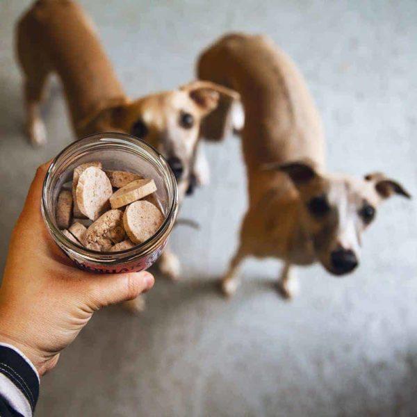 Fagyasztva szárított pulykahús jutalomfalat kutyáknak, Pet Farm Family