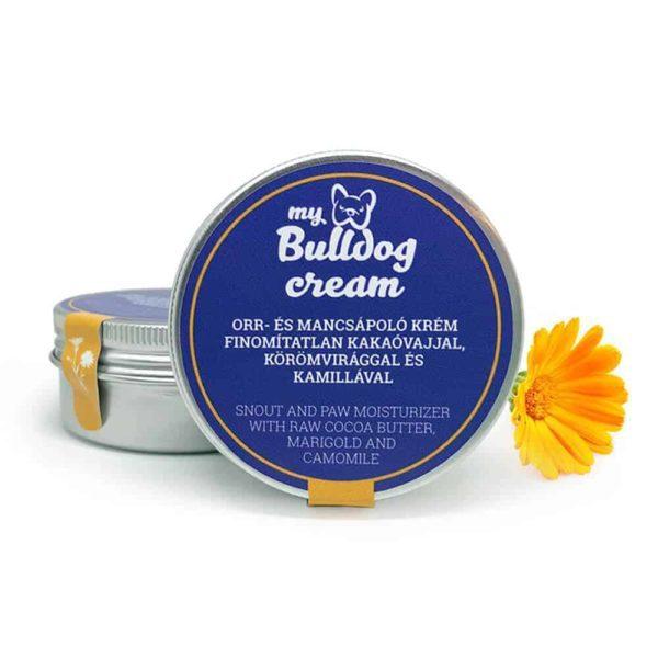 Kamillás-körömvirágos mancsápoló krém, My Bulldog Shop