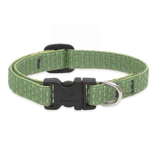 Lupine ECO újrahasznosított nyakörv kutyáknak – Moss