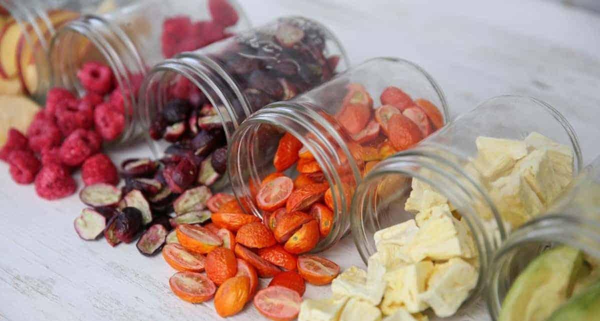 Zöldség-, gyümölcskeverékek