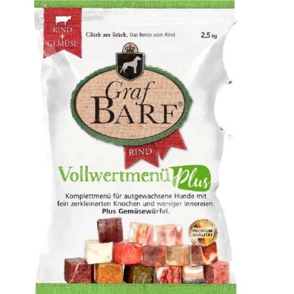 Marhamenü zöldségekkel, Graf BARF PLUS