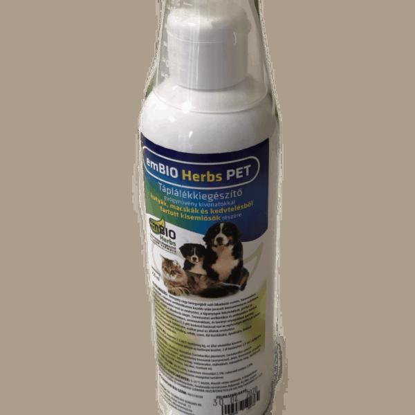 EMBIO Herbs táplálék-kiegészítő gyógynövénykeverék kutyáknak, macskáknak