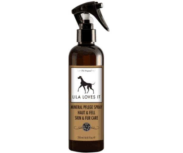 Bio ásványi spray irritált bőrre kutyáknak, Lila Loves It