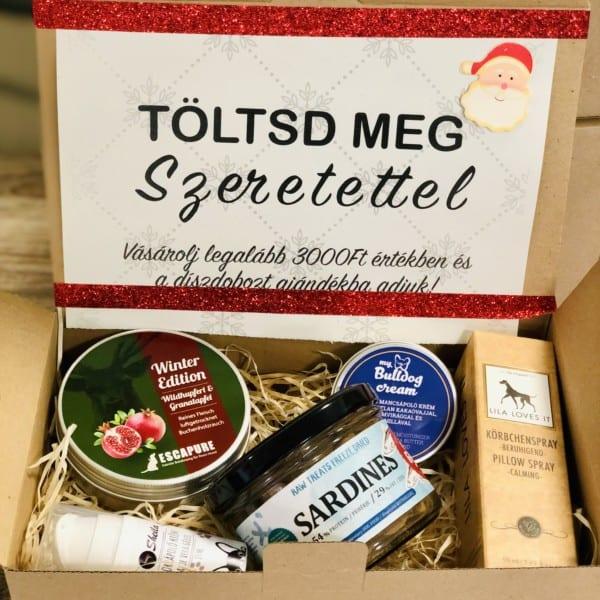 TÖLTSD MEG SZERETETTEL Karácsonyi ajándékdoboz, Csodacsont