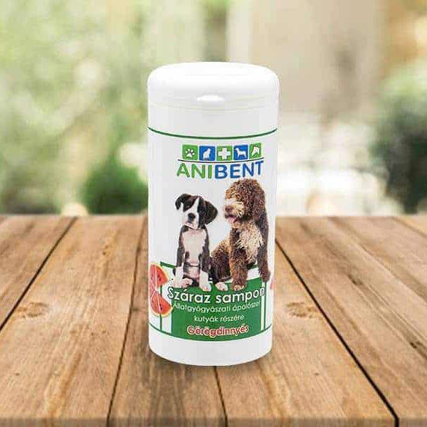 Görögdinnye Illóolajos Száraz Sampon Kutyáknak, Anibent