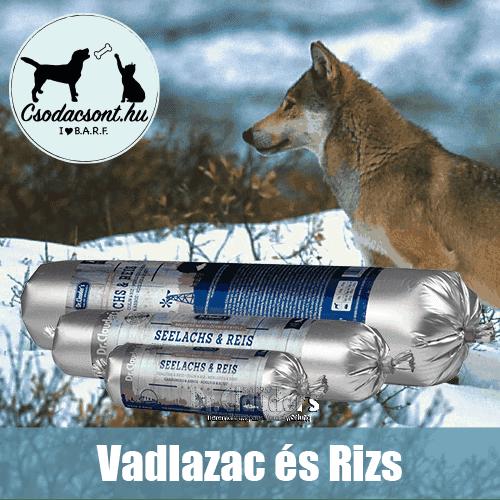 Vadlazac-Rizs Párolt Eledel Kutyáknak, Dr Clauder's