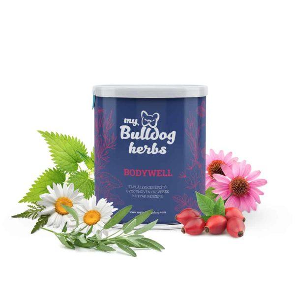 """""""BODYWELL"""" Immunerősítő Gyógynövénykeverék Kutyáknak, My Bulldog Shop"""