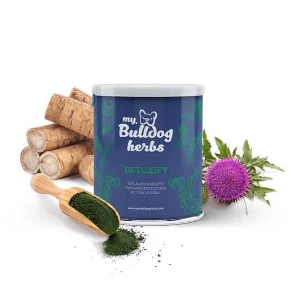 """""""DETOXIFY"""" Méregtelenítő Gyógynövénykeverék Kutyáknak, My Bulldog Shop"""