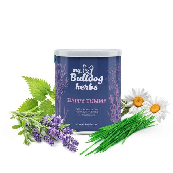 """""""Happy Tummy' Emésztést Támogató Gyógynövénykeverék, My Bulldog Shop"""
