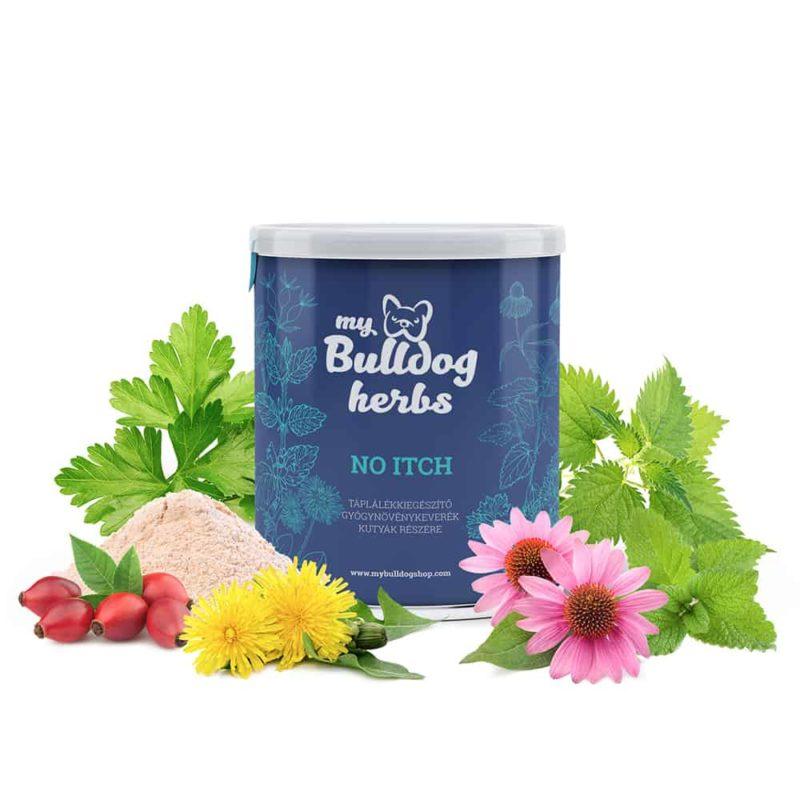 no itch my bulldog gyógynövénykeverék