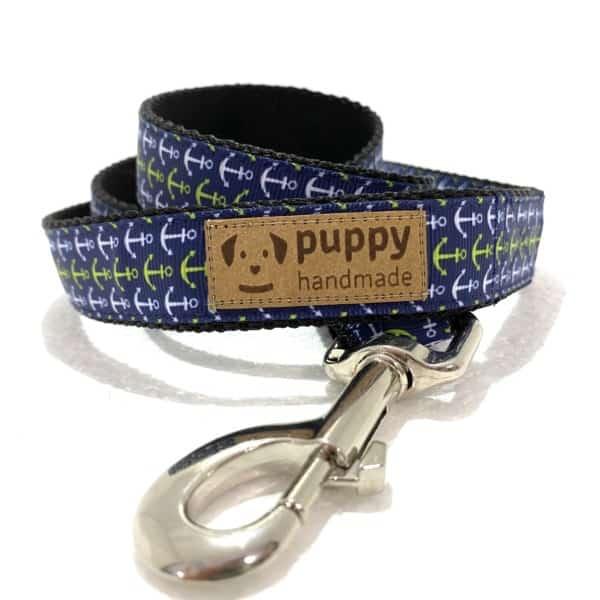 ANCHOR Póráz (2,5cm széles), Puppy Handmade