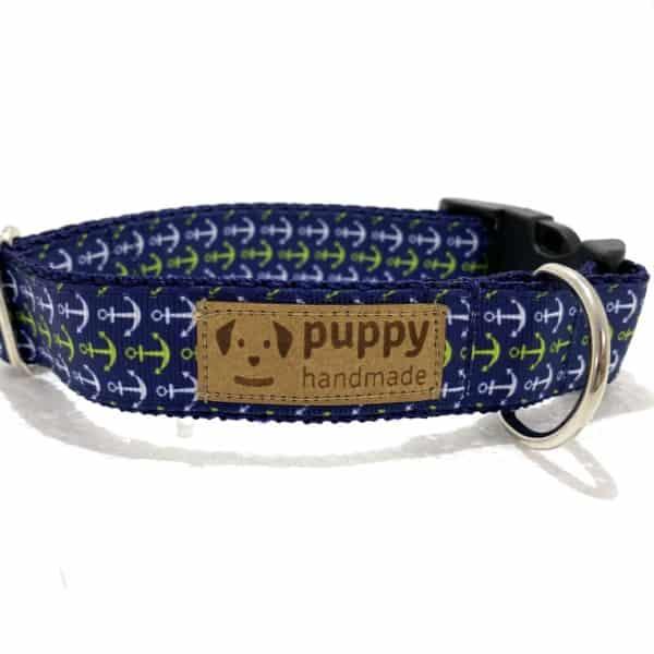 ANCHOR Nyakörv (2,5cm széles), Puppy Handmade