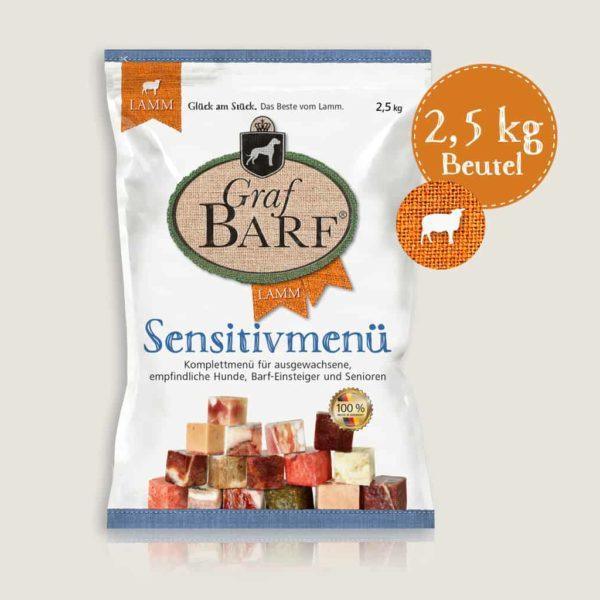 Sensitive Bárány Menü 2,5kg, Graf Barf