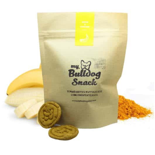Banános-Kurkumás Kutyakeksz, My Bulldog Snack