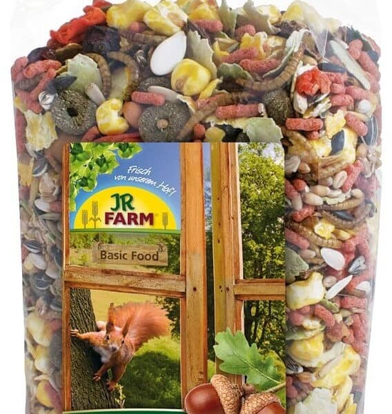 JR Farm Garden Squirrels' treat 600 g
