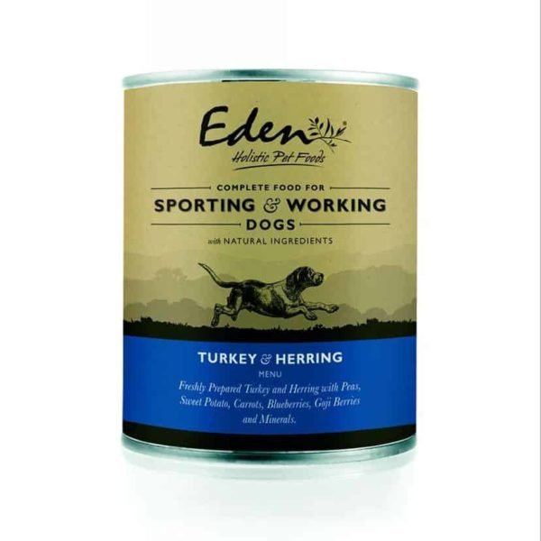 Eden Holistic 70/40 Working and Sporting Pulyka-Hering Konzerv 400g