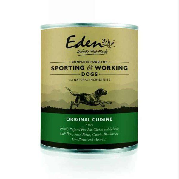 Eden Holistic 70/40 Working and Sporting Original Cuisine Konzerv 400g