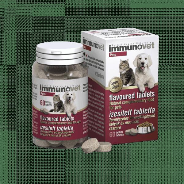 Immunovet tabletta kutyák és macskák részére 60db (A)