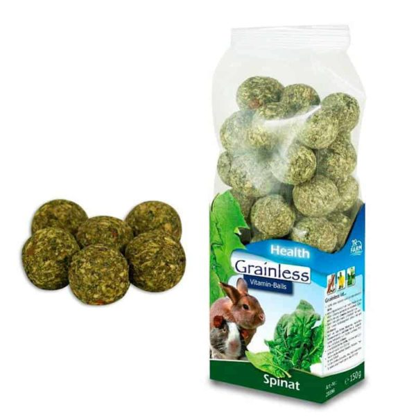 JR Farm Grainless Health Vitamin-Balls Spinach 150 g