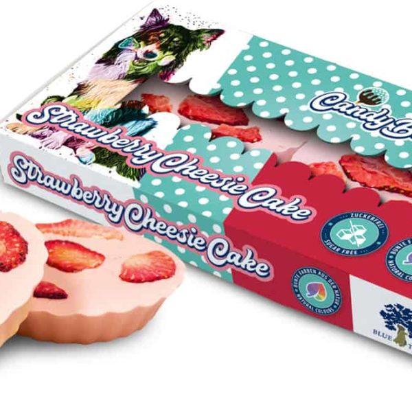 Strawberry Cheesie Cake Epres Sajttorta Kutyáknak, Blue Tree